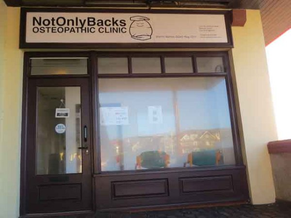 Osteopath : Not Only Backs